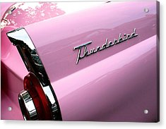 Pink Thunderbird Acrylic Print