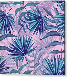 Pink Tropic  Acrylic Print