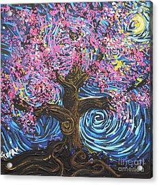 Pinky Tree Acrylic Print