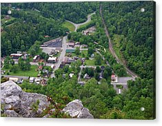 Pinnacle Overlook In Kentucky Acrylic Print