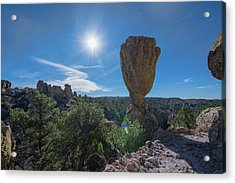 Acrylic Print featuring the photograph Pinnacle Rock by Dan McManus