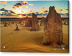 Pinnacles 8 Acrylic Print