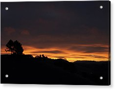 Pinole Valley At Dawn Acrylic Print