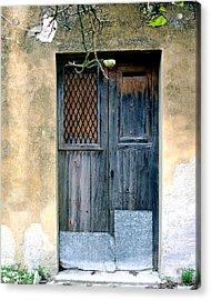 Pino's Door Acrylic Print