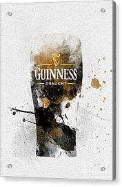 Pint Of Guinness Acrylic Print