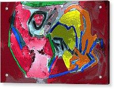 Pintura Moderna 1 Acrylic Print by Carlos Camus