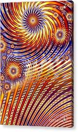 Pinwheel Abstract Acrylic Print