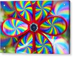 Pinwheel Acrylic Print by Michal Boubin
