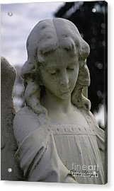 Acrylic Print featuring the photograph Pioneer Angel by Dodie Ulery