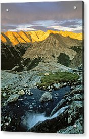 Pioneer Mountains Acrylic Print by Leland D Howard
