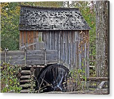 Pioneer Water Mill Acrylic Print