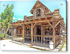 Pioneertown, Usa Acrylic Print