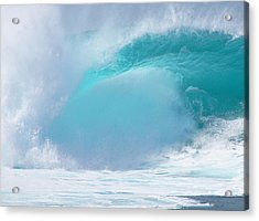Pipeline First Reef Acrylic Print by Kevin Smith