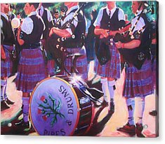 Pipes And Drums Acrylic Print