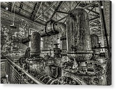 Pipes And Pumps And Pipes Acrylic Print