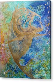 Piranha Water Acrylic Print
