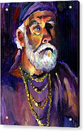 Pirate Bob Acrylic Print