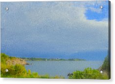 Pirate Cove Jamestown Ri Acrylic Print