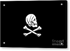 Pirate Flag Of Henry Every Tee Acrylic Print