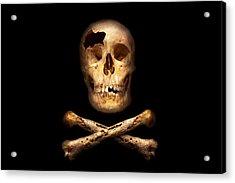 Pirate - Pirate Flag - I'm A Mighty Pirate Acrylic Print
