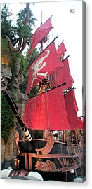 Pirate Ship Acrylic Print by Alan Espasandin