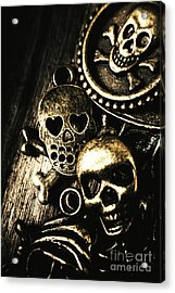 Pirate Treasure Acrylic Print