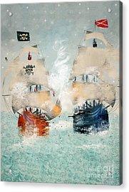 Pirates Ahoy Acrylic Print