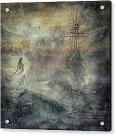 Pirates Cove Acrylic Print
