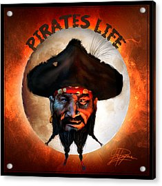 Pirates Life Acrylic Print