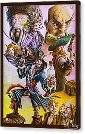 Pirates Of The Caribbean Acrylic Print