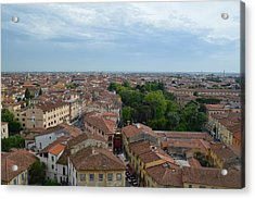 Pisa From Above Acrylic Print