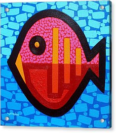 Pisces 4 Acrylic Print by John  Nolan