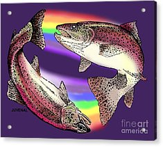 Pisces Artist Acrylic Print