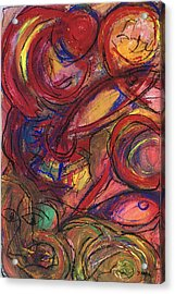 Pisces Symbalic Acrylic Print