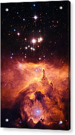 Pismis 24 And Ngc 6357 Acrylic Print by Marco Oliveira