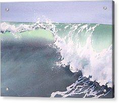 Pismo Wave Number Eight Acrylic Print by Philip Fleischer