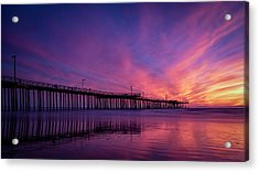 Acrylic Print featuring the photograph Pismo's Palette by Sean Foster