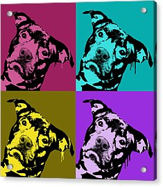 Pit Face Acrylic Print by Dean Russo