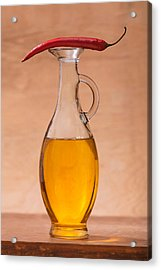Pitcher And Pepper #1475 Acrylic Print