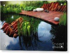 Pitcher Plant Garden 2 Acrylic Print
