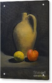 Pitcher This Acrylic Print by Genevieve Brown