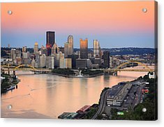 Pittsburgh 16 Acrylic Print by Emmanuel Panagiotakis