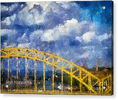 Pittsburgh 16th Street Bridge Acrylic Print