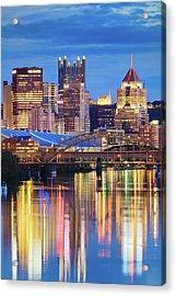 Pittsburgh 2 Acrylic Print by Emmanuel Panagiotakis