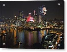 Pittsburgh 3 Acrylic Print by Emmanuel Panagiotakis