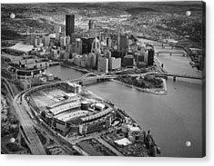 Pittsburgh 9 Acrylic Print by Emmanuel Panagiotakis