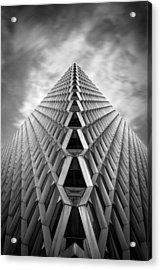 Pittsburgh Architecture  3bw Acrylic Print by Emmanuel Panagiotakis