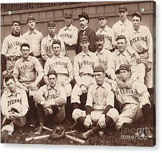 Pittsburgh National League Baseball Team Acrylic Print by American School