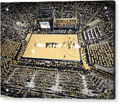 Pittsburgh Panthers Petersen Events Center Acrylic Print by Replay Photos