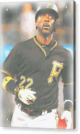 Pittsburgh Pirates Andrew Mccutchen 4 Acrylic Print
